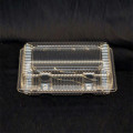 sushi Clear hinged containers
